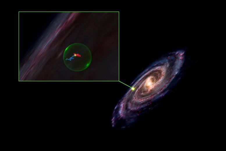 天文学家在分析银河系分子云的三维地图时发现一个巨大的球状空洞 直径约500光年