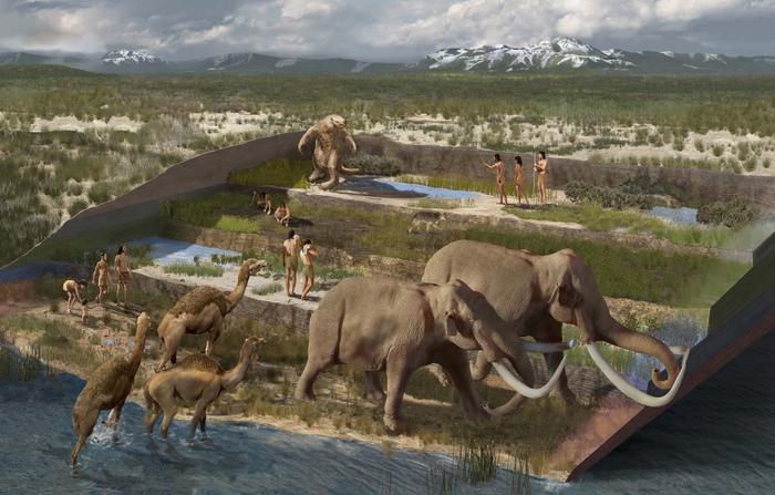 美国新墨西哥州白沙国家公园发现的脚印化石表明:人类在末次盛冰期就已在北美栖居