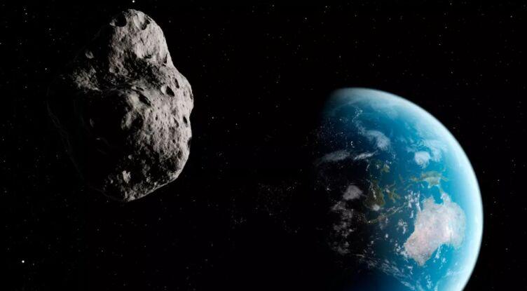小行星2021 SG最接近地球的第二天才被发现