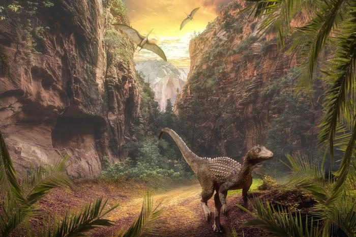 """2.3亿年前火山活动引起的气候变化推动恐龙成为地球""""霸主"""""""