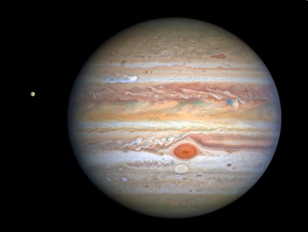 """木星""""大红斑""""的风速持续加大"""
