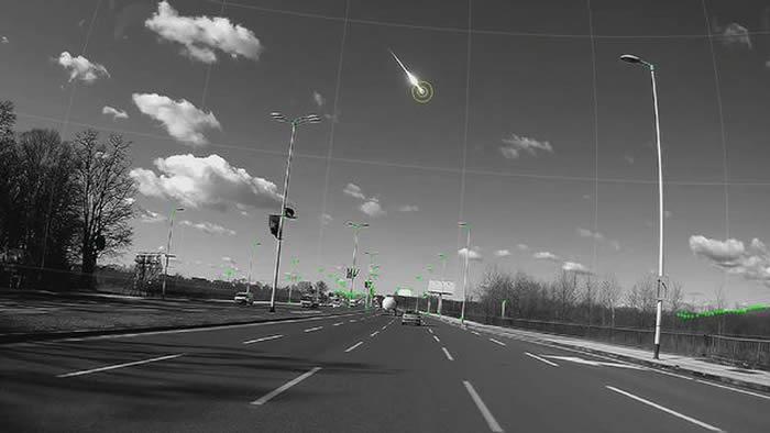 研究人员利用行车记录仪寻找斯洛文尼亚火球的来源 进入地球大气层之前重达四吨